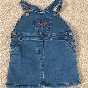 New Stella Mccartney Kids dungaree dress 24 month